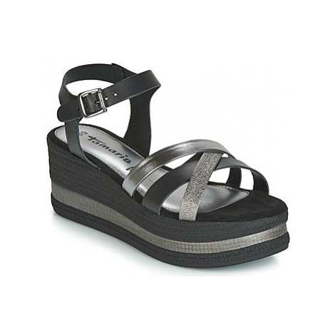 Tamaris COLONIA women's Sandals in Black