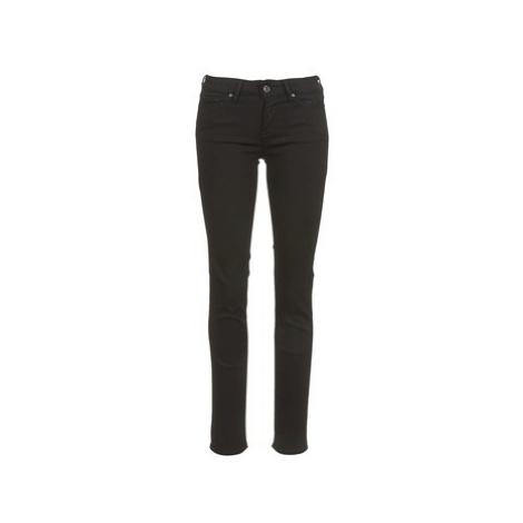 Levis 712 SLIM women's Skinny Jeans in Black Levi´s