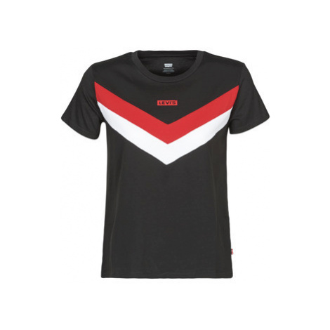 Levis FLORENCE TEE women's T shirt in Black Levi´s