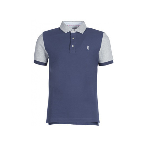 Vicomte A. PORTISHORE POLO men's Polo shirt in Blue