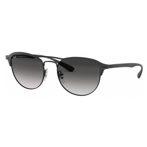 Ray-Ban Rb3596 Man Sunglasses Lenses: Gray, Frame: Black - RB3596 186/8G 54-19
