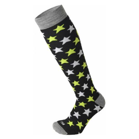 Mico MEDIUM WEIGHT PROTECTION SKI SOCKS JR black - Children's ski socks