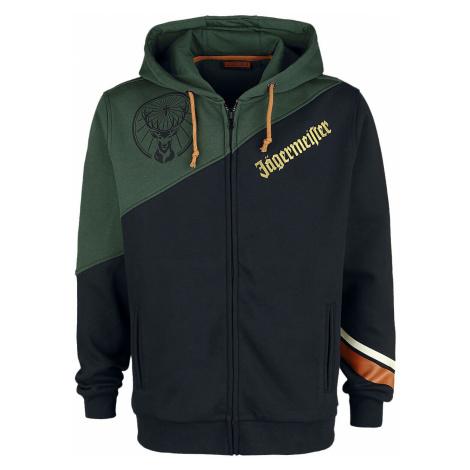 Jägermeister Jägermeister Hooded zip black dark green