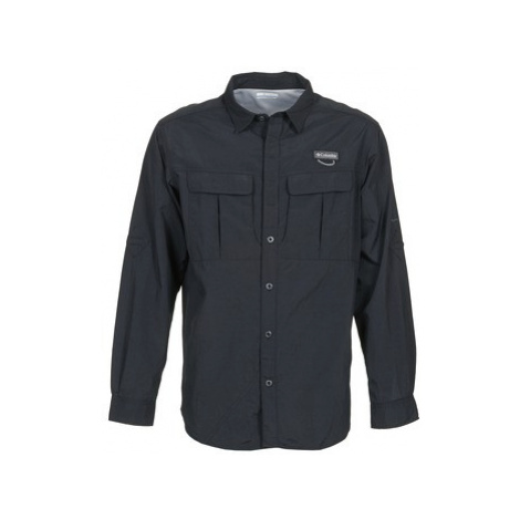 Columbia CASCADE EXPLORER men's Long sleeved Shirt in Black