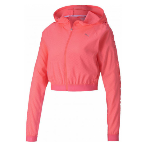 Puma BE BOLD WOVEN JACKET pink - Women's sports jacket