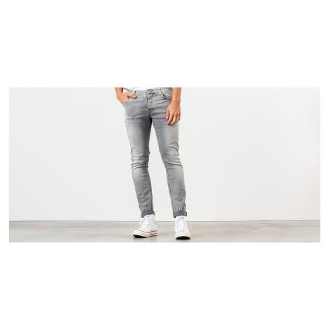 Nudie Jeans Grim Tim Jeans Light Grey Trashed Nudie Jeans Co