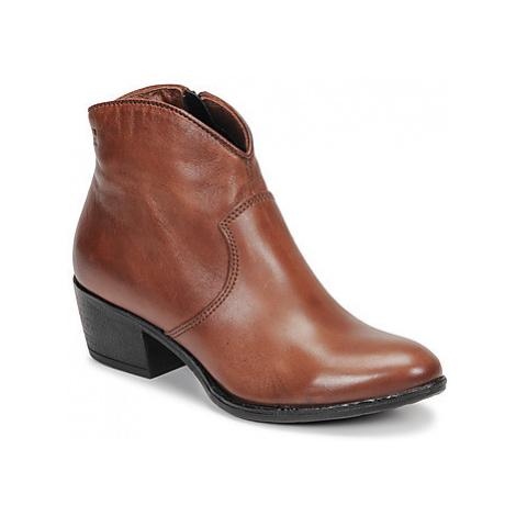Dream in Green LALYSSA women's Low Ankle Boots in Brown