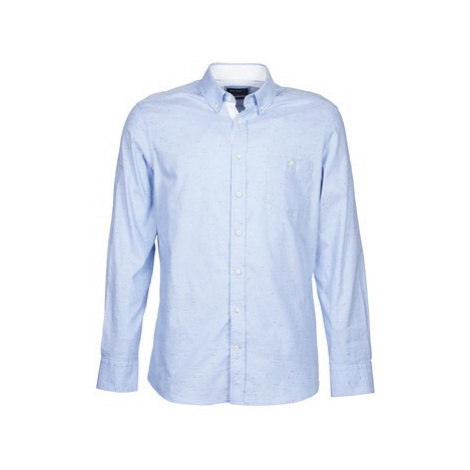 Hackett LUKE men's Long sleeved Shirt in Blue