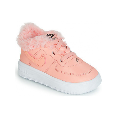 Nike AIR FORCE 1 TODDLER boys's Children's Shoes (Trainers) in Pink