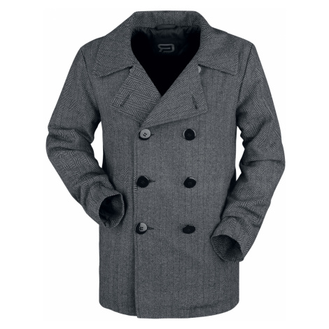 RED by EMP - Pea Coat - Jacket - dark grey