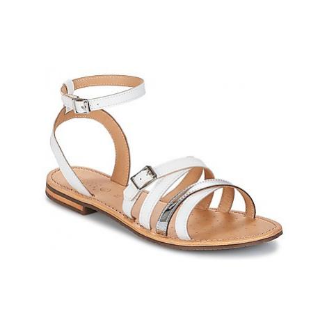 Geox SOZY B women's Sandals in White