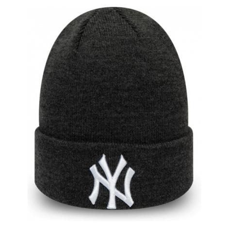 New Era MLB HEATHER ESSENTIAL KNIT NEW YORK YANKEES black - Men's winter hat