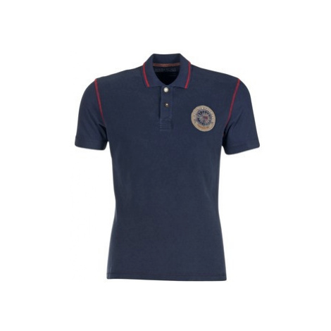Napapijri EXLEY men's Polo shirt in Blue