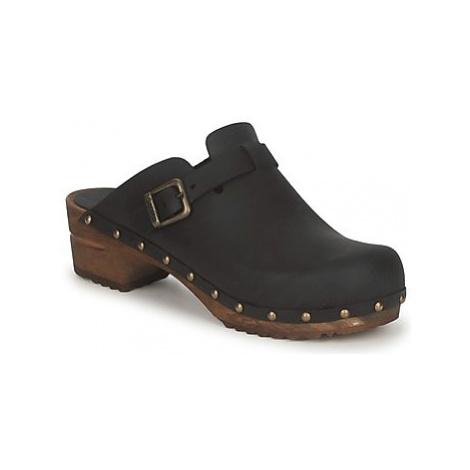 Sanita KRISTEL OPEN women's Clogs (Shoes) in Black