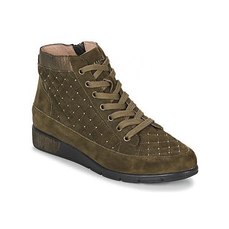 Mam'Zelle GRUME women's Shoes (High-top Trainers) in Kaki