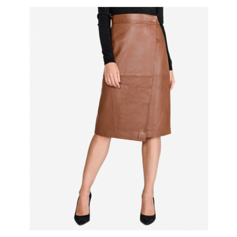 French Connection Abri Skirt Brown