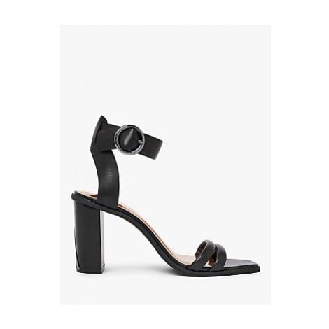 Ted Baker Elasana Leather Block Heel Sandals