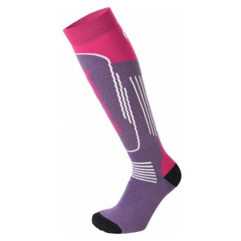Mico SUPERTHERMO JR purple - Children's ski socks