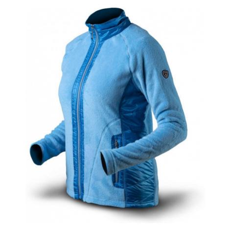TRIMM FLOWERS blue - Women's sweatshirt