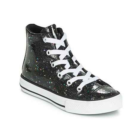Converse CHUCK TAYLOR ALL STAR GALAXY GLIMMER HI girls's Children's Shoes (High-top Trainers) in