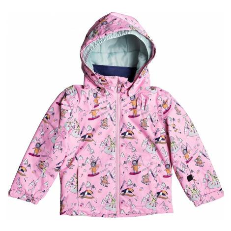 jacket Roxy Mini Jetty - MEQ1/Prism Pink Snow Trip - kid´s