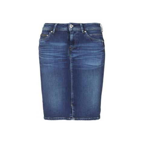 Pepe jeans TAYLOR women's Skirt in Blue