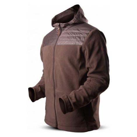 TRIMM ROTT brown - Men's fleece jacket