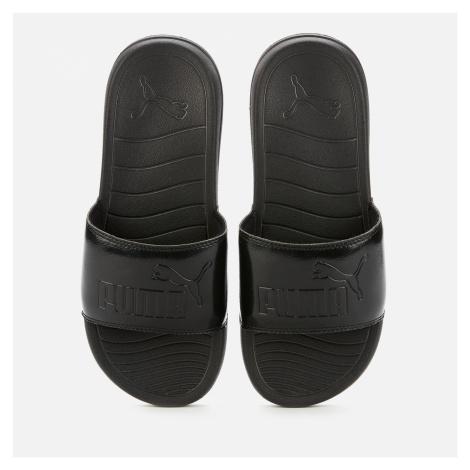 Puma Women's Popcat 20 Slide Sandals - Puma Black/Puma Black - UK