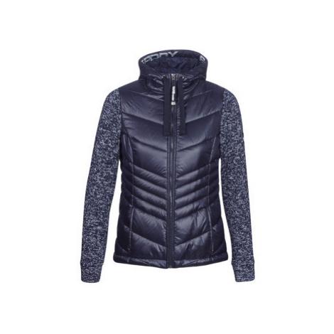 Superdry SD STORM SHINE ZIPHOOD women's Jacket in Blue