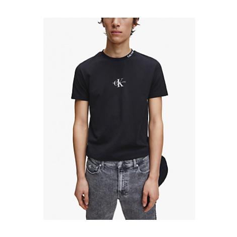 Calvin Klein Jeans Centre Monogram Tee, CK Black
