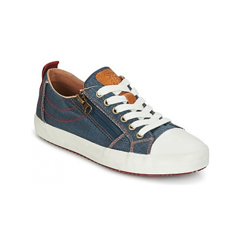 Geox J ALONISSO B. D boys's Children's Shoes (Trainers) in Blue