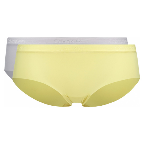 Calvin Klein Briefs 2 Piece Yellow Grey