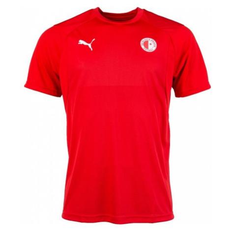 Puma LIGA TRAINING JSY SLAVIA red - Men's sports T-shirt