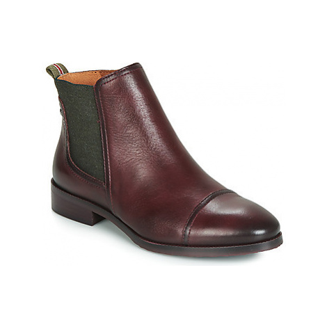Pikolinos ROYAL W4D women's Mid Boots in Bordeaux