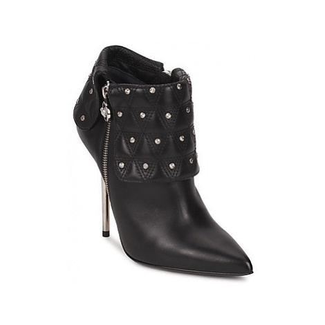 Versace DSL894P women's Low Ankle Boots in Black
