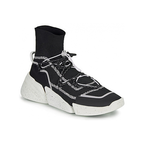 Kenzo KSOCK men's Shoes (High-top Trainers) in Black