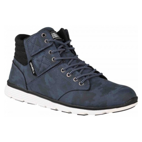 O'Neill RAILER LT CAMO dark blue - Men's ankle sneakers