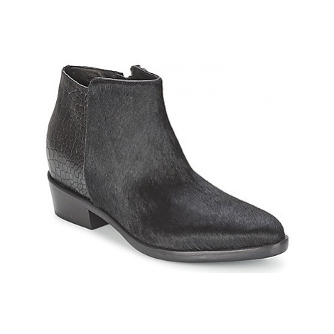 Alberto Gozzi PONY NERO women's Mid Boots in Black