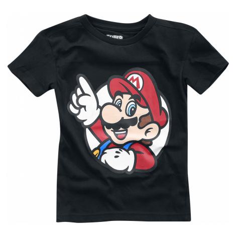 Super Mario - It's A Me - Kids shirt - black