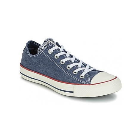 Converse Chuck Taylor All Star Ox Stone Wash women's Shoes (Trainers) in Blue