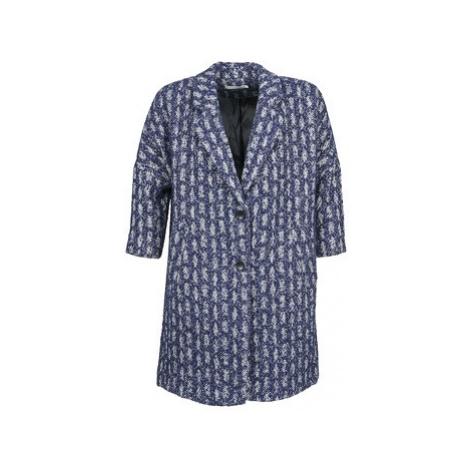 See U Soon RIFFLE women's Coat in Blue