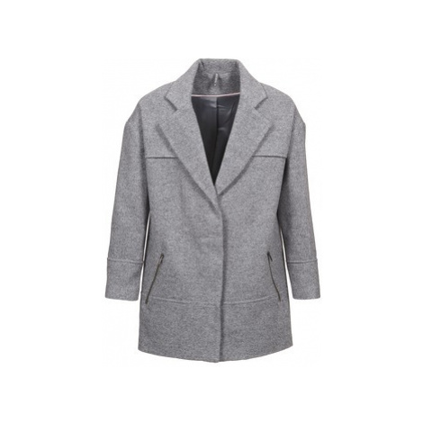 Naf Naf ADELI women's Coat in Grey