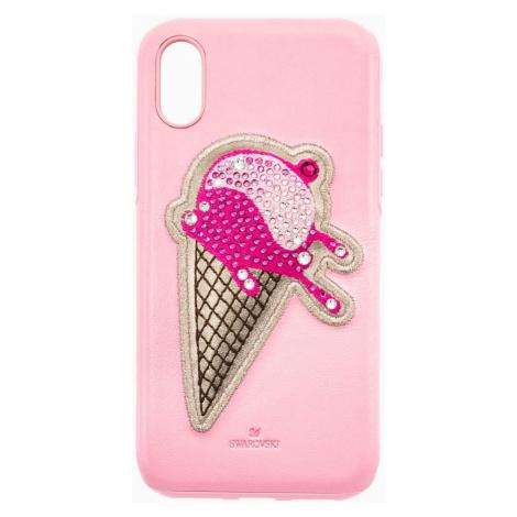 No Regrets Ice Cream Smartphone Case with integrated Bumper, iPhone® X/XS, Pink Swarovski