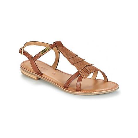 Les Tropéziennes par M Belarbi BELIE women's Sandals in Brown