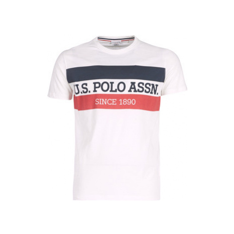 U.S Polo Assn. USPA POLO TEE men's T shirt in White U.S. Polo Assn