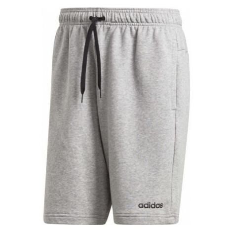adidas ESSENTIALS PLAIN SHORT FRENCH TERRY gray - Men's shorts