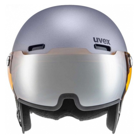 Uvex HLMT 500 VISOR gray - Ski helmet