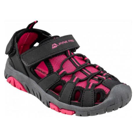 ALPINE PRO EAKY pink - Children's summer shoes