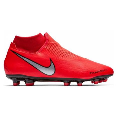 Nike PHANTOM VISION ACADEMY DYNAMIC FIT FG red - Men's football boots