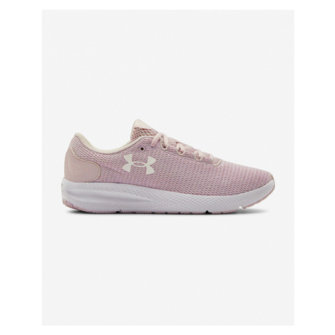 Under Armour Charged Pursuit 2 Twist Running Sneakers Pink